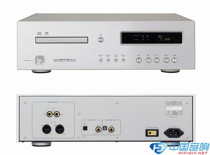 Luxman D-06U在连接电脑使用时,可支持PCM和DSD文件的解码播放,支持播放电脑的高清母带级音频文件PCM 32bit/384khz和DSD 5.6 MHz格式。而且为了在USB输入状态具有更好的性能,D-06U在USB输入端配备了一个专用的DSP和高精度低抖动的数字时钟,让USB音频数字数据时基误差更低、精度更高。 D-06U支持Mac OS X或Windows XP及更高版本的系统,在Windows系统可以使用标准的USB 2.