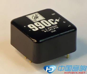图四:jensen 990运放电路