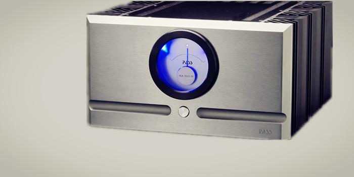 纯a类设计,320瓦输出 pass labs xa160.8单声道后级放大器