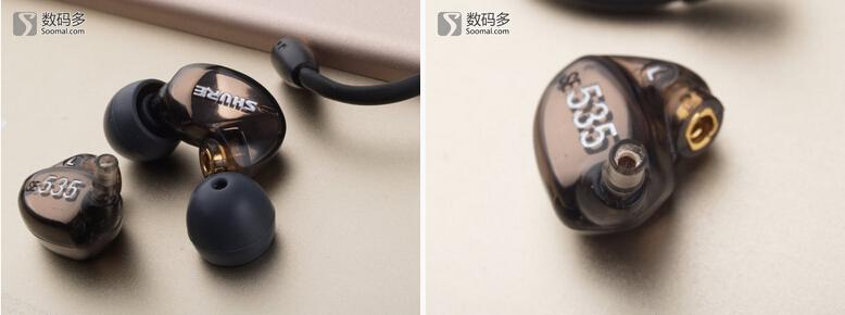 舒尔SE535入耳式耳机测评