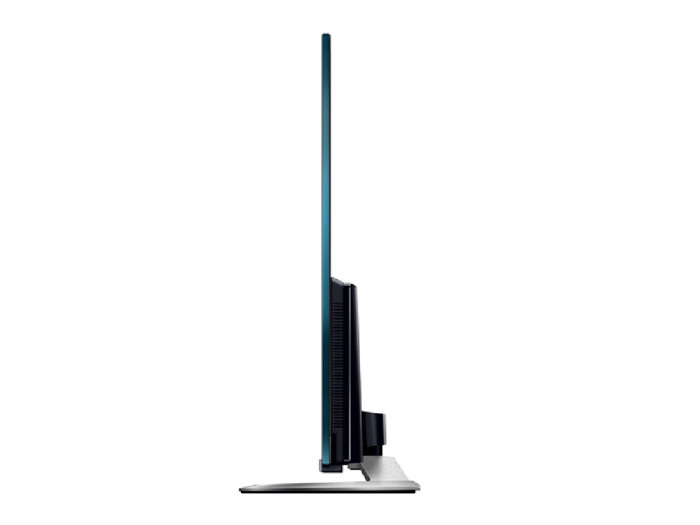 sony 索尼 bravia 液晶 电视机 w950a 系列 - 侧面 下方 为 扬声器 设计