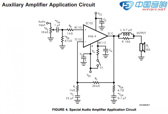电路规划 lm4766按照官方手册推荐的auxiliary