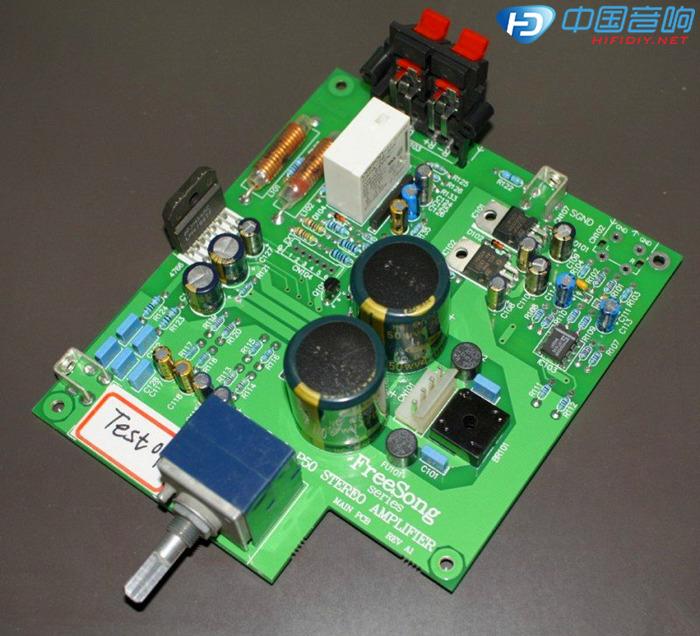 烧友自述:一款lm4766桌面功放p50的设计制作