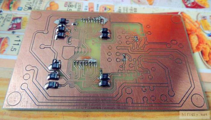 高性能之选 wm8740 dac解码芯片试玩