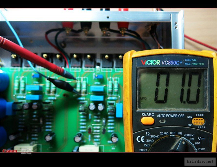 功率管电流调整