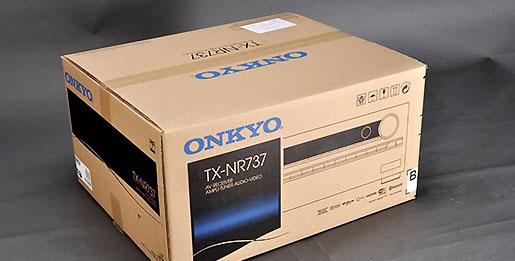 俪德Onkyo TX-NR737开箱赏析