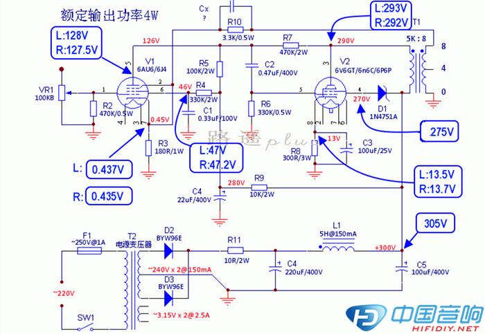 6AU6 6V6GT单端制作记图片