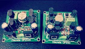 音频牛绝配 DIY音频专用分立运放OP990初测