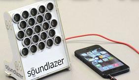 神奇的扬声器:站跟前才能听到声音