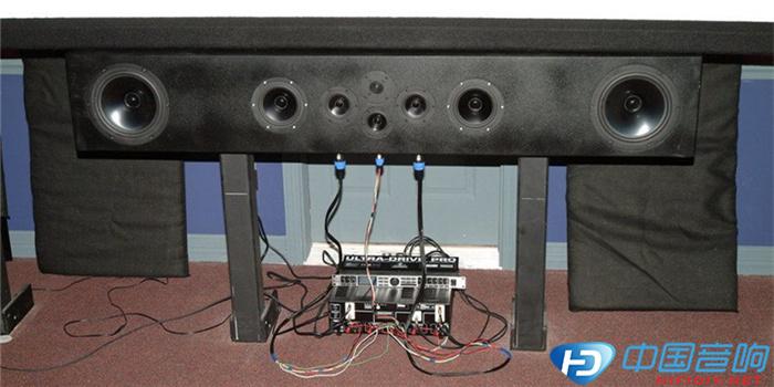 音箱中置喇叭接线图