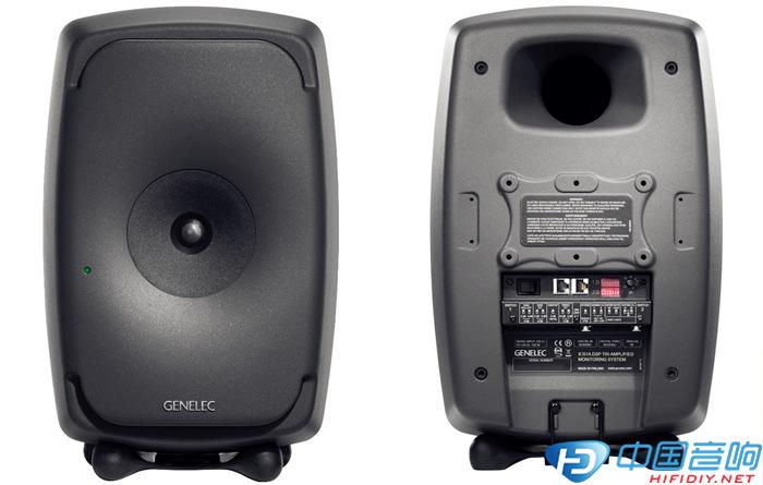 真力genelec 8351a三分频同轴有源监听音箱系统