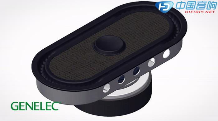 8351a三分频同轴有源监听音箱系统