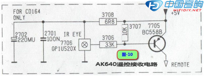 遥控接收电路