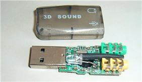 旧物利用 USB声卡改制低频方波记录采集器