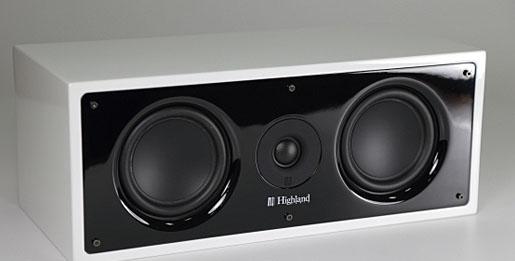 绝佳的定位感 Highland Dilis系列多声道喇叭