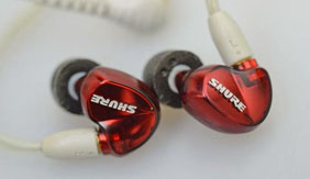 舒尔SE535入耳式耳机试用
