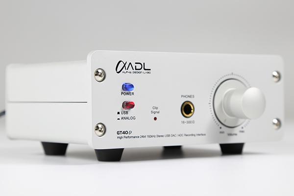 ADL GT40α USB DAC耳放