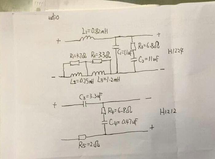 该分频器的电路图:   第二个分频例子是邀请现场观众参与的,给出单元