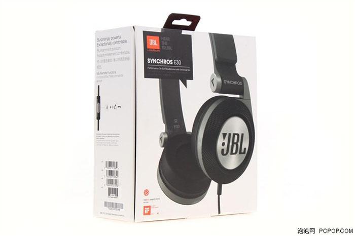 时尚与专业完美结合 JBL E30耳机评测