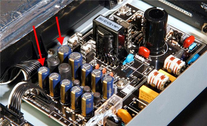 电源板电容摩改