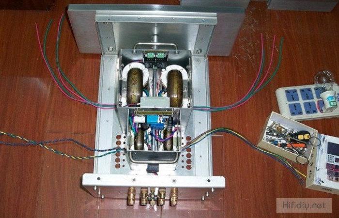 电源变压器安设
