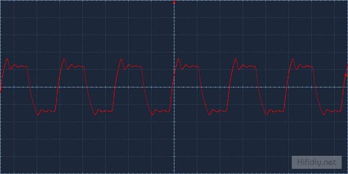 方波测试输出波形(没加cx反馈电容)