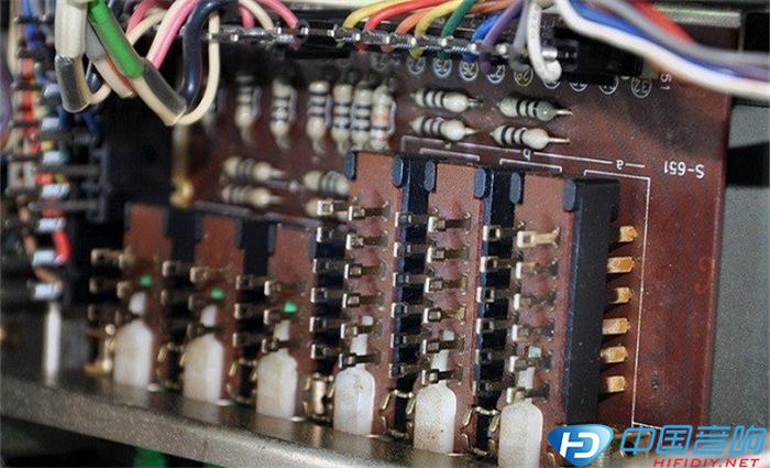 海淘经典前级 jvc jp-s7前置均衡放大器拆机