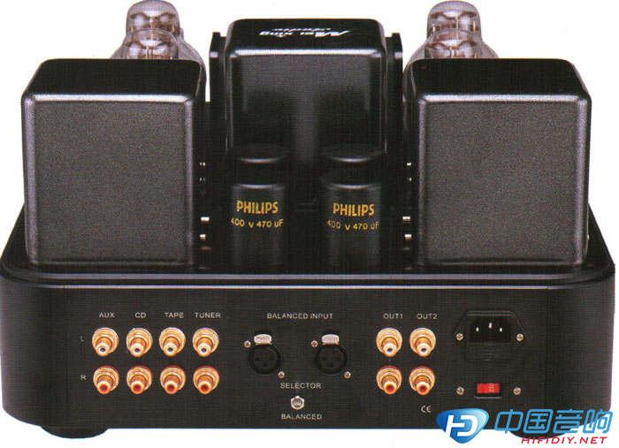 电子管前级+mc3008-a单声道后级组合j是美星功放产品线中的中坚型号.