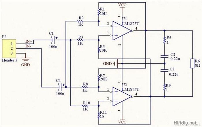 TDA2030A电路图