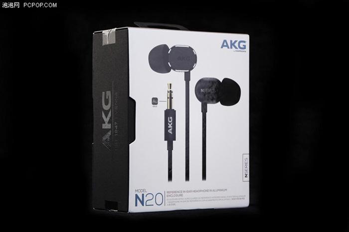 耳塞新贵 AKG N20新品评测