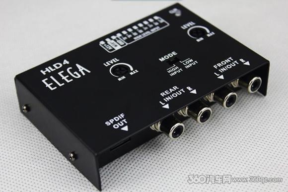 改善音质小技巧 依力伽ELEGA HDL4高电平转光纤
