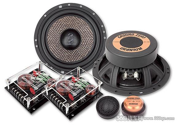 德国零点发布GZUC 650SQX两分频喇叭