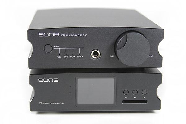 Aune X1s及X5s数码音乐播放器新X元素