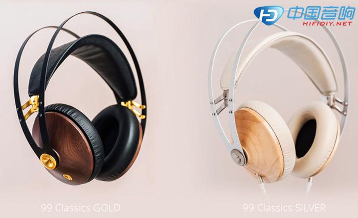 坚持原木制作的耳机外壳 既然是设计系的产品,当然得先从外观说起。Meze耳机家族一脉相传的特点依旧不变,就是其木质外壳。99 Classics的耳机外壳是原木材质,原厂提供胡桃木与枫木两个版本,分别配以黑金与银白,两种款式都好看极了;黑金胡桃木版极适合都会型男使用,女性朋友则很容易被枫木银白款所吸引。