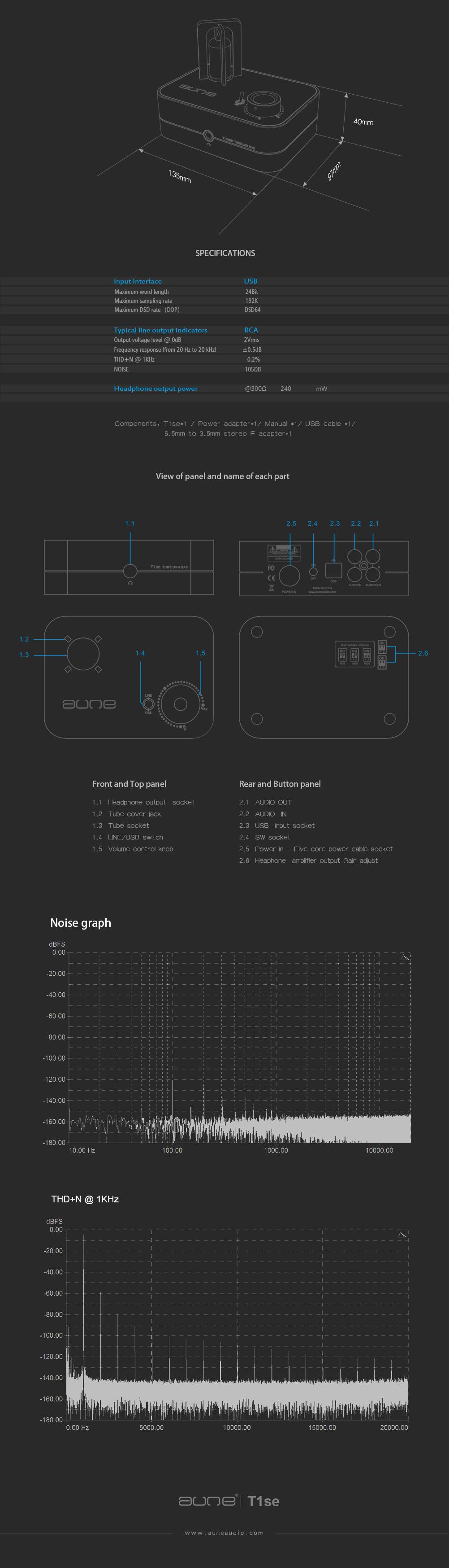 Aune T1SE Mk III DAC és fejhallgatóerősítő - Bartimex Audio ... b6dbb01a6e
