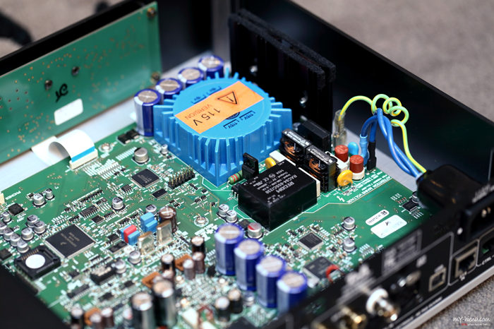 T+A DAC 8 DSD供电部分