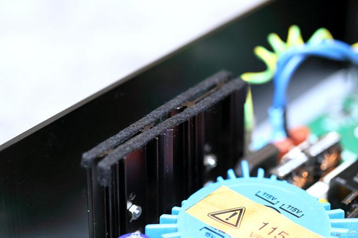 T+A DAC 8 DSD散热片