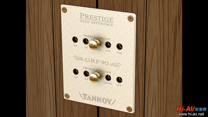 天朗GRF90纪念款音箱面板