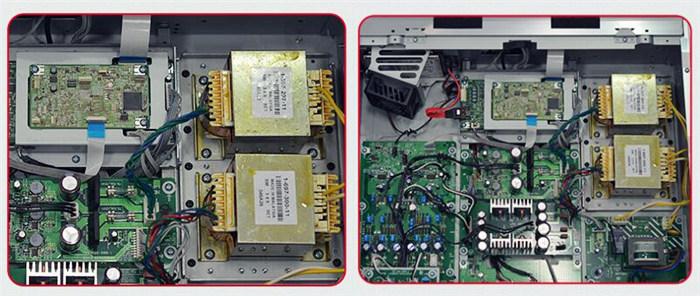 Sony TA-A1ES Hi-Fi合并功放从追求电气性能、控制音质的角度出发,搭载了场效应晶体管输入缓冲放大器。能在足够高的阻抗下接收输入信号,并在低阻抗、高纯度的状态下将音乐信号输出到音量控制电路,进而驱动音量元器件,减少音质因为音量大小变化而产生的变化。电源部分采用容量充分的环形变压器(300VA),扬声器接口基本以固定经过终端处理的Y型接口和香蕉接口为目的,设置了足以集中松散线缆的接口尺寸。 耳机放大器的难点在于,不同耳机阻抗的高低范围很大,所以TA-A1ES为配合耳机的阻抗设置了可切换的3个档