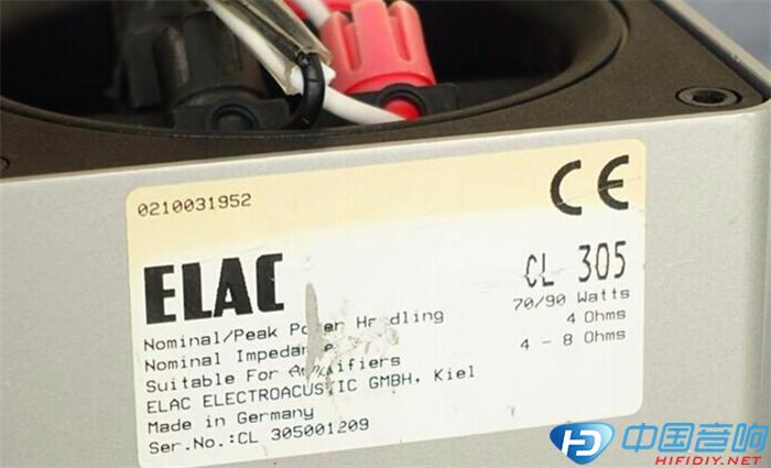 ELAC305音箱