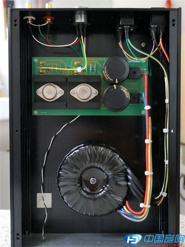 给原厂naim前级nac92做个hicap独立稳压电源