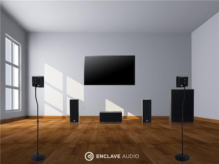 """无线家庭影院 """"无线自由 无限震撼"""" Enclave Audio CineHome HD 5.1       ——与众不同的无线家庭影院 音"""