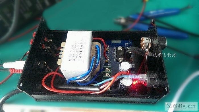 TDA1521桌面功放