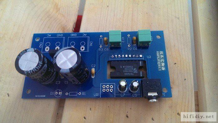 TDA1521桌面功放电路板