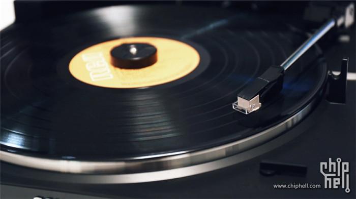日淘十年老机 sony ps-v800黑胶唱片机开箱