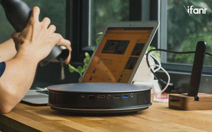 坚果G3投影仪体验 小投影仪也有家庭影院的效果