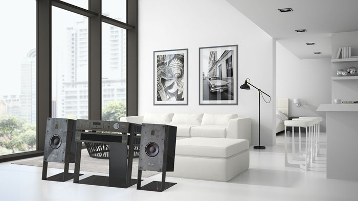 奢華簡約風 Burmester Phase 3 All-In-One音響系統