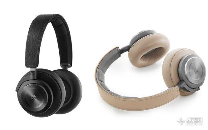 奢华小羊皮 B&O发布无线降噪耳机B&O H9