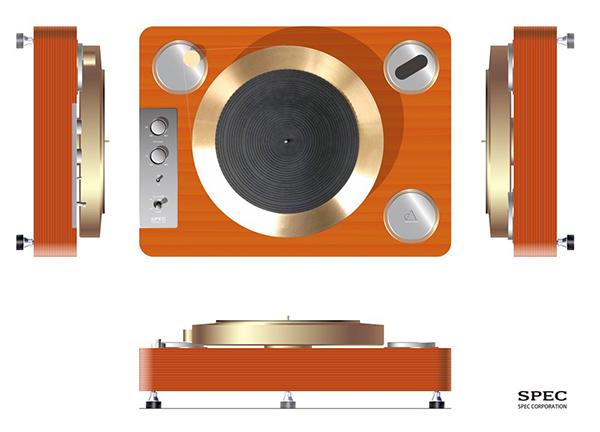 细节成就完美 Spec GMP-8000黑胶唱盘