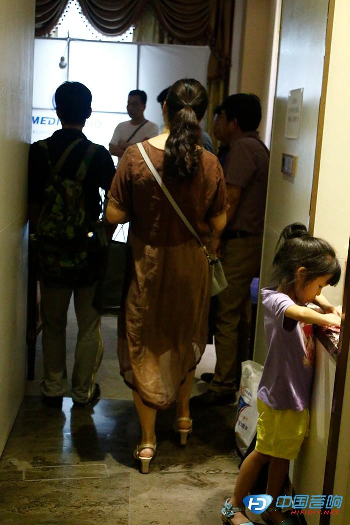 2017华中国际音响展——奥莱尔展厅